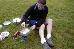 Camping at Alton
