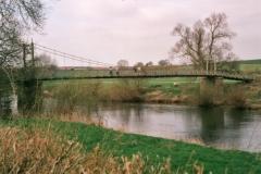 Sellack Bridge over the River Wye