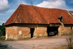 Wattle and daub barn