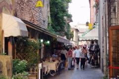 Narrow street in Garda