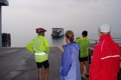 The ferry to Gardone Riviera