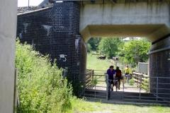 Railway crossing near Crick