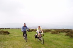 Kevin and Sheila on Hergest Ridge