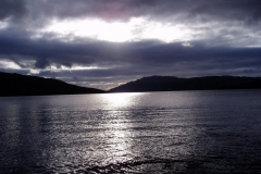 Sundown over Loch Sunart, Resipole