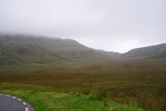 Climbing up to Loch Mudle, Ardnamurchan