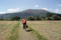 Cycle path near Abergavenny