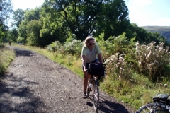 Sheila on Taff Trail