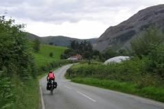 Descending to Penygarnedd