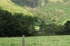 A waterfall above Llanymawddwy