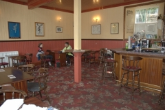 The pub in Voe was pretty quiet