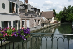 River Eure at Ivry la Bataille
