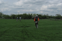Andy, Lowri and Dave between Lilbourne and Shenley Farm