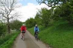 Mike and Andy near Hartington
