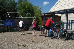 Leaving Ullesthorpe Garden Centre