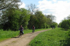Sustrans route north of Woodstock