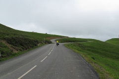 Lew near the top of the Col d'Aubisque