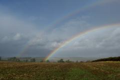 Double rainbow near Owston
