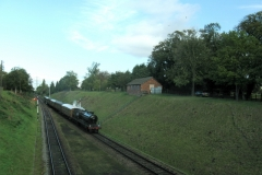 In steam at Rothley
