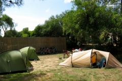 Camping at le Ruppione