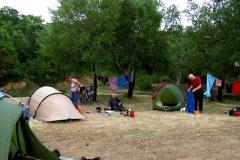 Camping at Calzola