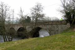 Aberbechan Bridge, River Severn
