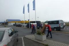Arriving at Reykjavik Domestic Terminal