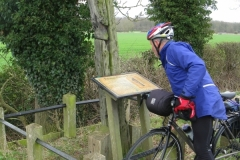 Gibbet Post near Congerstone