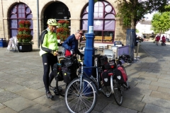 Ready to set off from Warwick