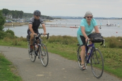 Tony & Sheila at Rutland Water