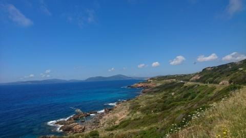 Coast road near Alghero