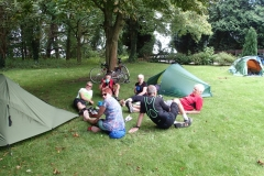Camping at Hanley Swan
