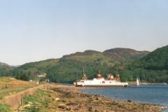Collintraive ferry, north Bute
