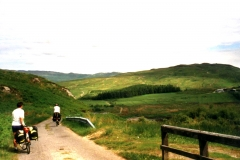 Very quiet, single track road up the east side of Jura
