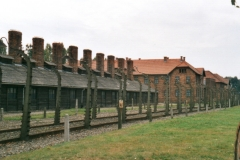 A sobering visit to Auschwitz towards the end of the tour