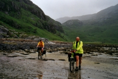 At the head of Loch Nevis