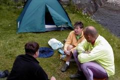 Camping in Glen Shiel