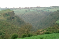 Thor's Cave in the Manifold Valley