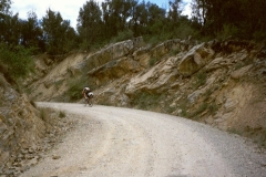 Unsurfaced road to Beget