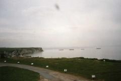 Remains of the Mulberry Harbour at Arromances