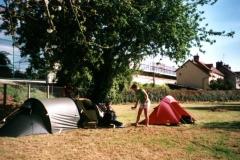 Camping near La Cambe