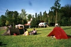 Camping near Falaise