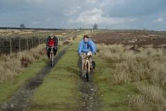 Sheila and Ray on Longstone Moor