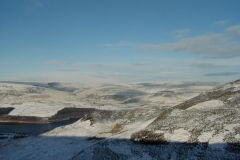 The moors above Crowden YH