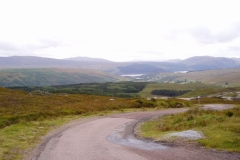 Strontian from summit of Polloch road