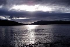 Sundown over Loch Sunart, Resipole