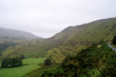 Start of the main climb to Kilchoan. Ardnamurchan