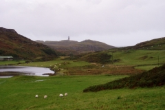 Lighthouse from Loch Grigadale
