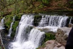 Waterfall walk near Ystradfellte on Sunday