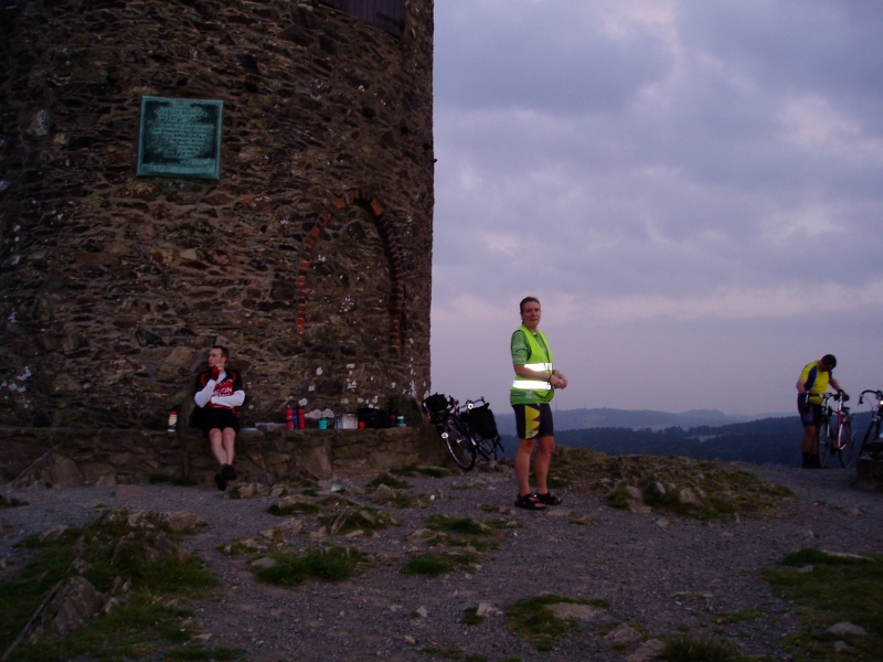 Arriving at Old John Tower