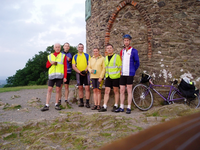 Bob, Peter, Sheila's Brother, Sheila and ... at Old John Tower